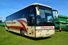 GM57GSM (PD3.) Tags: gm57gsm gm57 gsm vanhool van hool safeguard coaches coach bus buses hampshire hants england uk gosport lee solent stokes bay station fareham provincial society seafront sea front 2017 volvo b12b