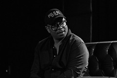 IMG_9835 (Brother Christopher) Tags: blackandwhite monochrome monochromatic explore explored live show liveshow podcast audio audiodocumentary npr gimeltmedia loudspeakersnetwork combatjack reggieosse chrislighty brotherchris hiphop hiphopculture mogul cultre event events talk discussion panel interview