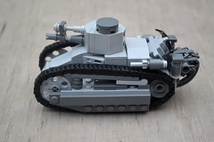 Lego Fiat 3000 (Chainworm666) Tags: lego fiat 3000 tank panzer ww1