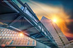 Oslo, Norway 0097 Fantasy City at Sunset (Sony A6000, Canon 10-18) (IP Maesstro) Tags: fantasy bridge building oslo norway hdr sony architecture sunset sunrise ipmaesstro