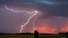 Orage en Auvergne (Fabien GTLT) Tags: orage éclairs foudre ciel auvergne beauregardlevêque campagne nature canon puydedôme thunder