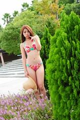 Sherry0003 (Mike (JPG直出~ 這就是我的忍道XD)) Tags: sherry 自來水博物館 d300 model beauty 外拍 portrait 2014 swimsuit 泳裝