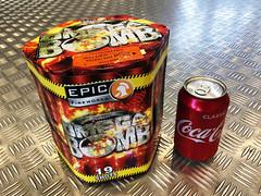 Omega Bomb 19 Shot 1.3g Firework Cake (EpicFireworks) Tags: omega bomb 19 shot 13g firework cake