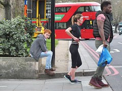 3 (Waterford_Man) Tags: girl boy jeans sports ginger people path candid street london