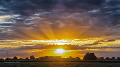 Sonnenuntergang (moni-h) Tags: abendstimmung kevelaer olympusm1240mmf128 olympusomdem5markii spaziergang wolken nordrheinwestfalen deutschland de sonnenuntergang