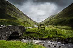 The Car Park (daedmike) Tags: scotland moffat dumfriesgalloway greymairstail hillwalking mountains hills road bridge stone stream burn gate valley glen tailburnbridge clouds mist