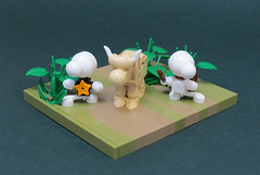 Out from Boneville (Grantmasters) Tags: bone comics jeffsmith lego cow race