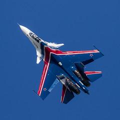 Sukhoi Su-30SM - 139 (NickJ 1972) Tags: zhukovsky maks 2017 airshow aviation sukhoi su30 flanker russianknights rf81722 37