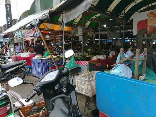 The market in Chiang mai Thailand