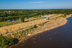 Perm. City Beach. (Смирнов Павел) Tags: perm permskiykray russland ru city beach landscape river kama rest summer пермь город пляж пейзаж река кама отдых лето