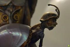 Tiny Snail-Man (petrOlly) Tags: europe europa poland polska polen gdansk gdańsk amber ambermart art object objects museum handmade