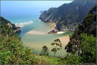 Tina Menor - Desembocadura del río Nansa - Cantabria