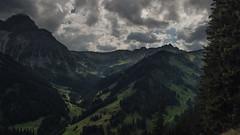 Majestic (Netsrak) Tags: eu europa europe berg berge gebirge alpen kleinwalsertal baum bäume wald wolken wolke