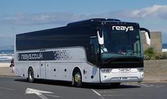 Reays of Wigton Van Hool TX 9HXN in St Andrews 24/7/17 (andyflyer) Tags: reays reayscoaches wigton vanhooltx 9hxn vanhool coach bus
