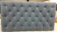 Biscuit tufted diamond without buttons