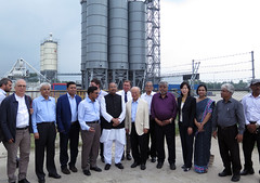 Yukiya Amano tours the Rooppur Nuclear Power Plant Project (01811225)