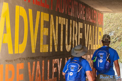 On Our Way to Adventure Valley (Daniel M. Reck) Tags: 2017nationalscoutjamboree 2017jambo bsa boyscoutsofamerica dmrfeature dmrphoto glenjean mounthope nsj nationalscoutjamboree sbr scouting summitbechtelreserve westvirginia year2017 backpack tunnel walking wall unitedstates