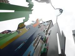 Oco (Jânio Kléo #9) Tags: escultura iorque york prédios