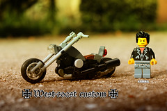 West-coast custom chopper (kr1minal) Tags: lego moc chopper westcoast custom bike motorbike
