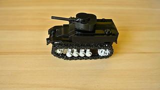 How to Build the M3 Stuart Light Tank (MOC - 4K)