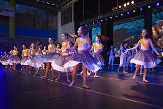 47th Israeli Dance Festival at the Hebraica Club, in Rio de Janeiro.
