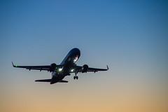 Взлёт Airbus A320 Аэрофлот