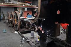 Strathspey Railway, Scotland (Paul Emma) Tags: uk scotland aveimore strathspeyrailway railway preservedrailway railroad steamtrain train black5 5025