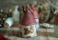 Preparation for the new year (Button-NK) Tags: newyear christmas holiday toys decorations tree gifts childhood stilllife decoupage