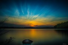 Sunset Over Rängen (bobban25) Tags: sky sunset water canon eos 80d efs18135mm f3556 is stm lee leefilters bigstopper longexposure leegradnd09soft nd09 soft linköping östergötland sverige sweden scandinavia canoneos80d canon80d rängen lake sjö flamboyant gaudy canonefs18135