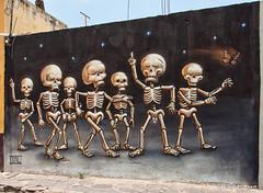 San Miguel de Allende Street Art (Michael Guttman) Tags: sanmigueldeallende mexico streetart muralart art murals coloniadeguadalupe artists artistic artwork