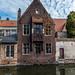Canal House in Bruges