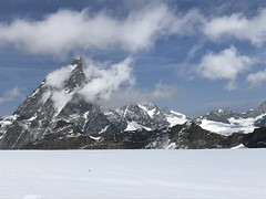 monte Cervino 4.475 mt (Roberto Tarantino EXPLORE THE MOUNTAINS!) Tags: plateau rosa testa grigia cervino piccolocervino valle daosta breinthorn weisshorn ghiacciaio neve crepacci