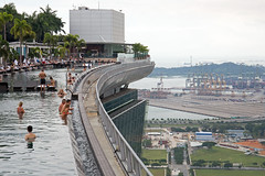 Dachpools in Singapur (Christian Jena) Tags: marina bay sands hotel singapore infinity pool singapur
