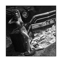 eight ball day #10 • thise, france • 2017 (lem's) Tags: 8 eight ball day 10 thise besancon teddy cruisers pin up americana memorabilia vintage classic car automobile zenza bronica