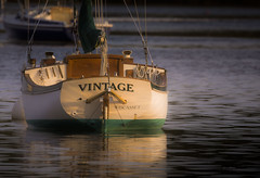 Vintage... (jm atkinson) Tags: pemaquidharbor morningwalk sailboat maine morning light atlantic seaside d7100 150600 joanmatkinson