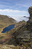 Étang Fourcat desde el Pic de Tristaina, Andorra (kike.matas) Tags: canon canoneos6d canonef1635f28liiusm kikematas picdetristaina étangfourcat ordino andorra andorre principatdandorra pirineos paisaje france francia lago rocas nature nubes agua mardenubes lightroom4 senderismo андорра