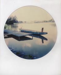 Time to Sail Away (o_stap) Tags: roundframe lake boat makerealphotos filmisnotdead ishootfilm believeinfilm analog instant impossibleproject polaroid600 polaroid