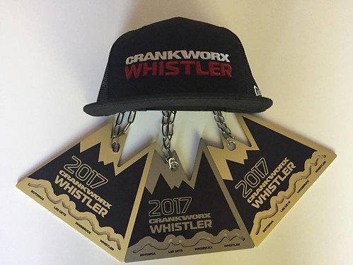 Crankworx whistler medals