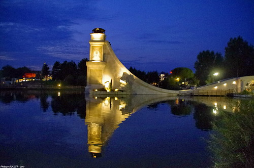 Nocturne au parc Astérix