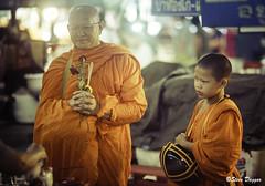 0S1A4820 (Steve Daggar) Tags: chiangmai thailand travel buddhist monk markets street candid asia