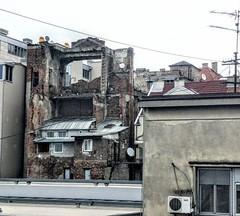 Reminder of war - Belgrade, Serbia (ashabot) Tags: serbia war kosovowar