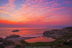 Sutro Colors (Jaykhuang) Tags: sutrobath sunset lagoon colors burn clouds reflections landsend sanfrancisco bayarea jayhuangphotography recordheatwave record106degreeheat