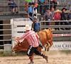 P9020004 (David W. Burrows) Tags: rodeo cowboys cowgirls horses bulls bullriding children girls boys kids boots saddles bullfighters clowns fun