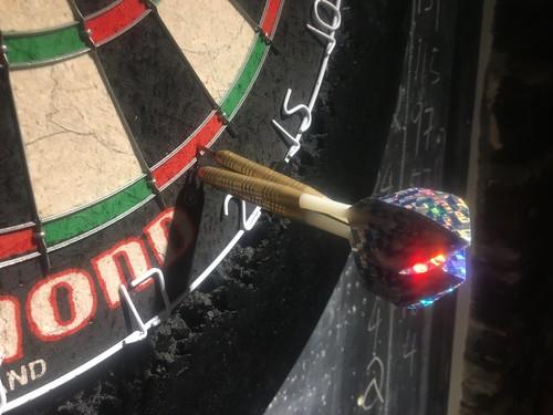 Darts at The Royal, Appledore