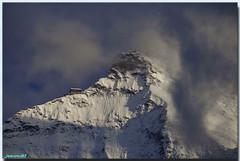 Refuge sur la crête du Jungfrau (jamesreed68) Tags: suisse refuge jungfrau mountain paysage neige glace oberland berne schweiz canon eos 600d