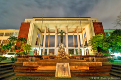 Unibersidad ng Pilipinas (Christian Bederico) Tags: up architecture university campus philippines diliman unibersidad ng pilipinas national quezon city institution school oblation guillermo tolentino hall filipino asia southeast night shot long exposure sculpture art