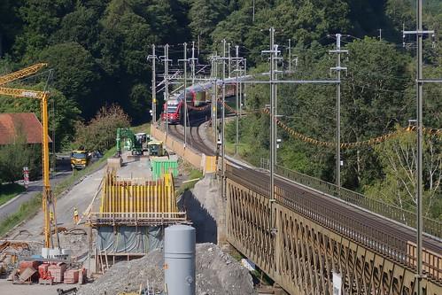 RhB Hinterrheinbrücke Reichenau-Tamins