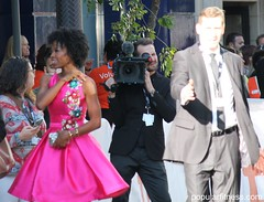Karimah Westbrook at 2017 TIFF (Peter Kudlacz) Tags: karimahwestbrook suburbicon 2017tiff tiff17 tiff2017 2017torontointernationalfilmfestival actress celebrity filmfestival toronto movies moviestar celebrities fashion dresses shortdress