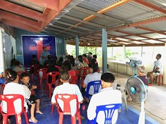 Evangelistic Meeting (SierraSunrise) Tags: church christian thailand phonphisai nongkhai
