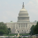 Washington D.C.: United States Capitol - classic view: the  west side of the building thumbnail
